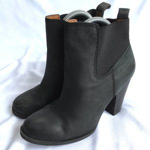 Lucky Brand Parlei Ankle booties black high heel